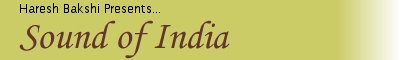 Sound of India banner